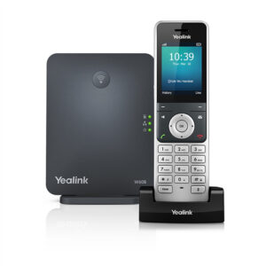 """Cordless phone Yealink W60 """"Your local West Auckland I.T. company that supplies Computer, Internet & voice solutions that work""""."""