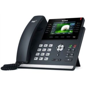 """SIP Desk phone Yealink 46s """"Your local West Auckland I.T. company that supplies Computer, Internet & voice solutions that work""""."""