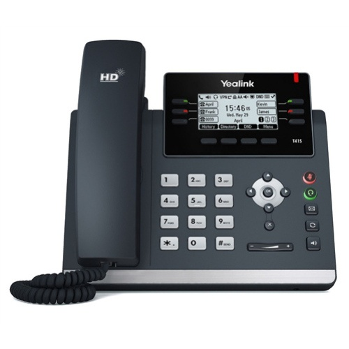 """SIP Deskphone Yealink T41S """"Your local West Auckland I.T. company that supplies Computer, Internet & voice solutions that work""""."""