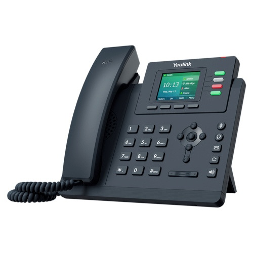 """Sip Desk phone Yealink T33G """"Your local West Auckland I.T. company that supplies Computer, Internet & voice solutions that work""""."""