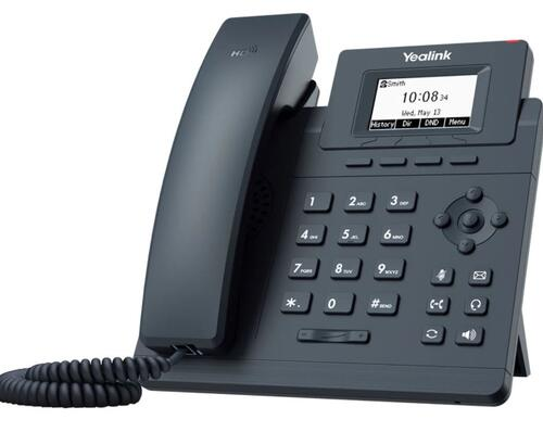 """Sip Desk phone Yealink T30P """"Your local West Auckland I.T. company that supplies Computer, Internet & voice solutions that work""""."""