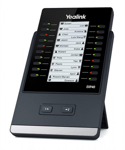 """Yealink EXP40 DSS module """"Your local West Auckland I.T. company that supplies Computer, Internet & voice solutions that work""""."""